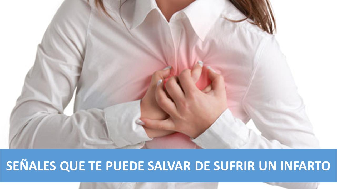 Alerta a las señales que te envía el corazón antes de un infarto