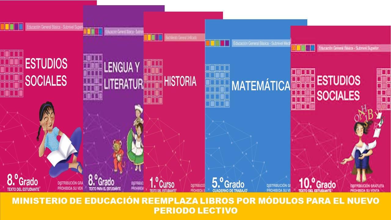 Módulos reemplazará a libros escolares el próximo año lectivo.