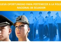 convocatoria para policias