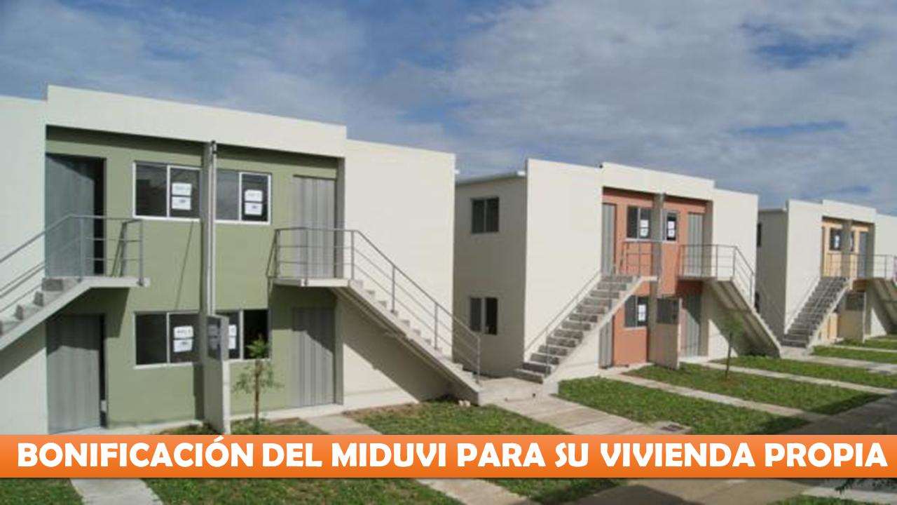 Cómo aplicar a el incentivo económico que entrega MIDUVI.