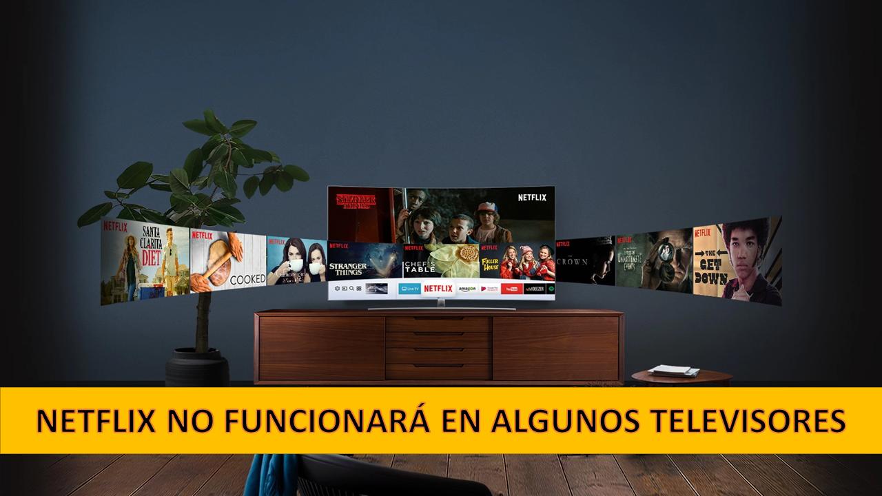 Netflix ya no funcionará en varios televisores en Ecuador