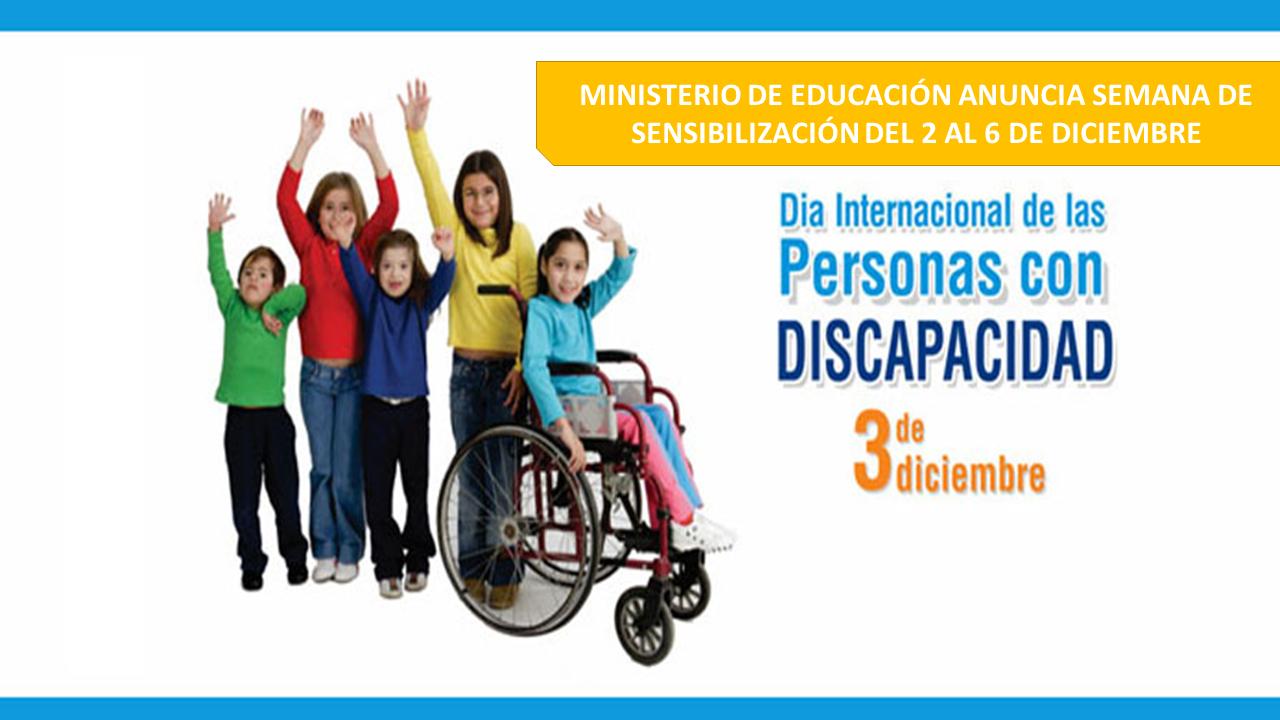 el Día Internacional de las Personas con Discapacidad