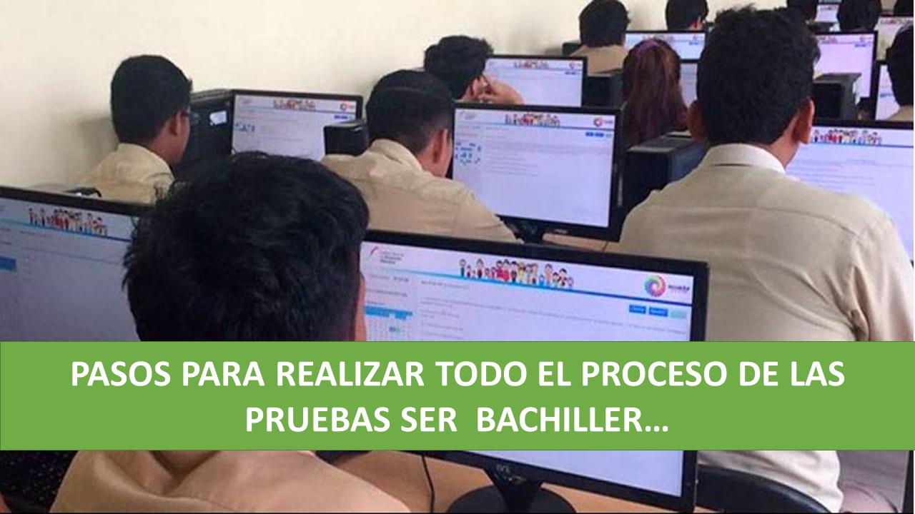 Inicia proceso de inscripción para las pruebas Ser Bachiller