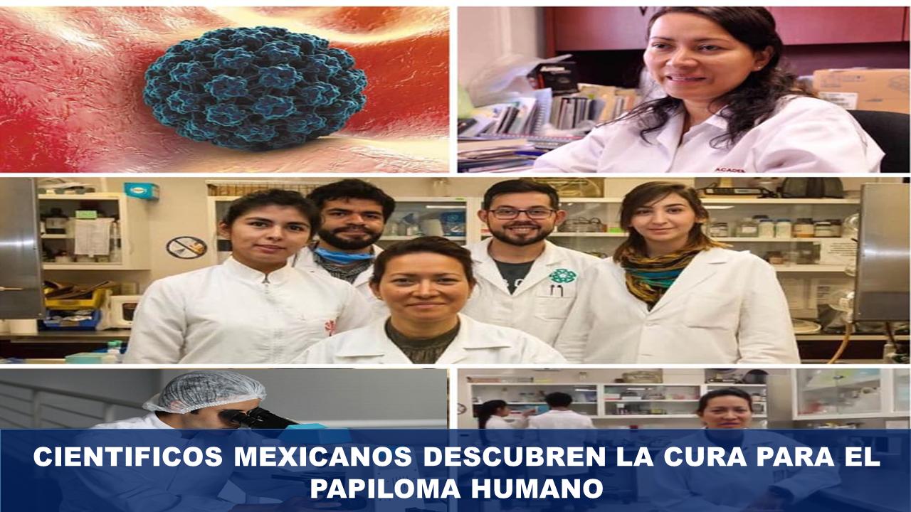Mexicanos descubren como eliminar el papiloma humano