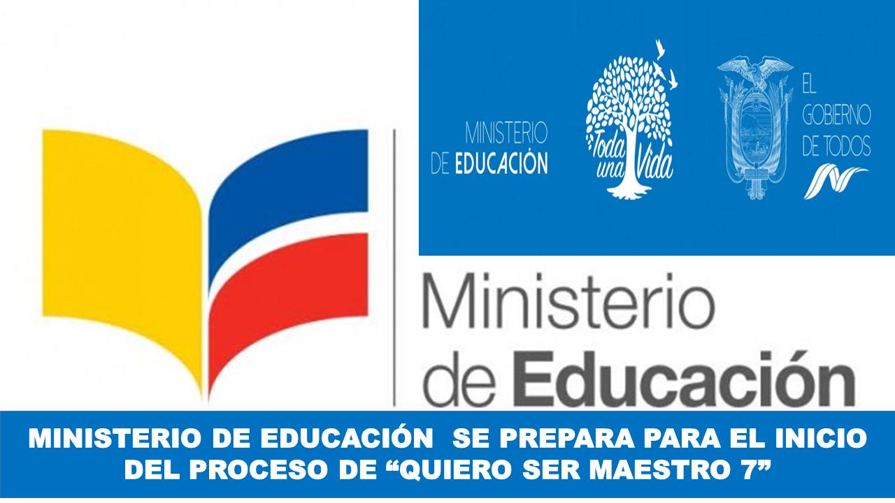 """Ministerio de Educación trabaja en el proceso """"Quiero Ser Maestro 7"""""""