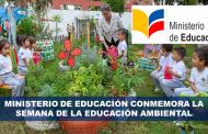 Ministerio de Educación conmemora la semana de la Educación Ambiental