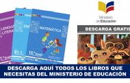 Todos los libros del Ministerio de Educación