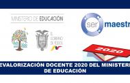 Revalorización Docente del Ministerio de Educación