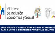 El Mies Inició la Distribución de Kits Alimenticios para Guayas y Diferentes Provincias del País