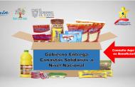 Gobierno Entrega Canastas Solidarias a Nivel Nacional