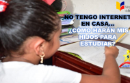 ¿Qué Harán los Estudiantes que no Tienen Internet en Casa?