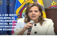 El 4 de Mayo Culmina el Aislamiento Social he Inicia el Distanciamiento en Ecuador