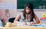 Currículo Compactado para la Emergencia Covid-19 Ciclo Costa 2020-2021