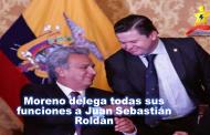 Moreno delega todas sus funciones a Juan Sebastián Roldán