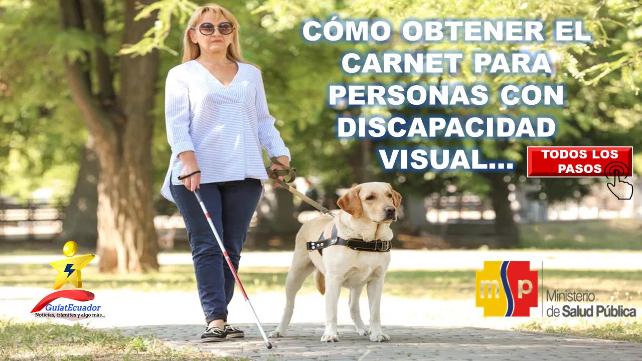 Cómo Obtener el Carnet para Personas con Discapacidad Visual