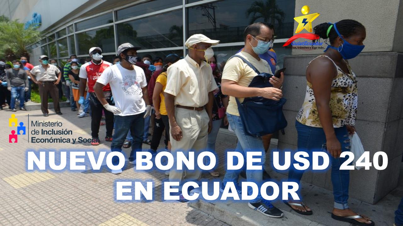 Nuevo Bono de USD 240 Decreto 1157