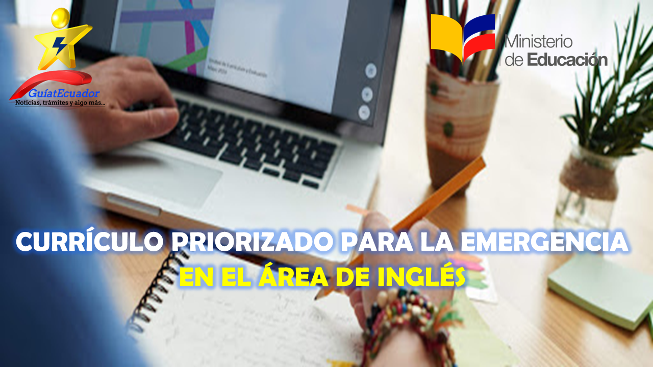 Currículo Priorizado para la Emergencia en el Área de Inglés