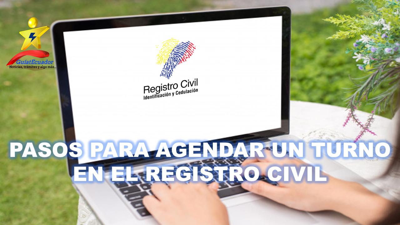 Como Agendar un Turno en el Registro Civil