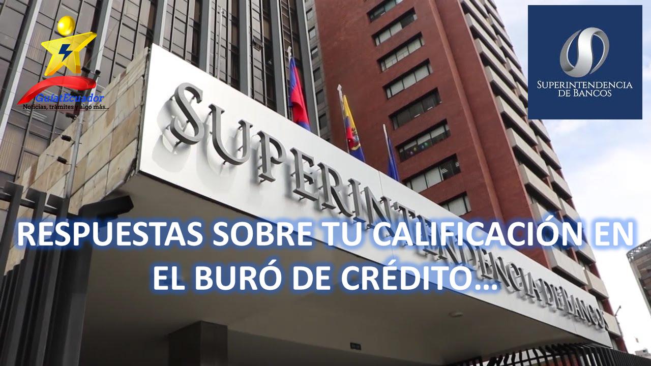 Respuestas Sobre su calificación Buró de Crédito Central de Riesgo
