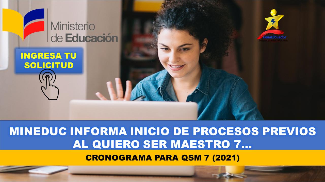 MinEduc informa sobre procesos previos al Quiero Ser Maestro 7